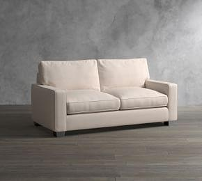 PB Comfort Square Arm Upholstered Sofa