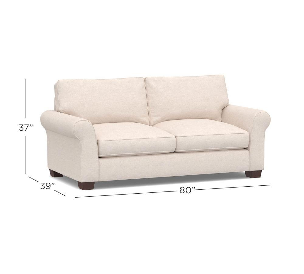 PB Comfort Roll Arm Upholstered Sofa