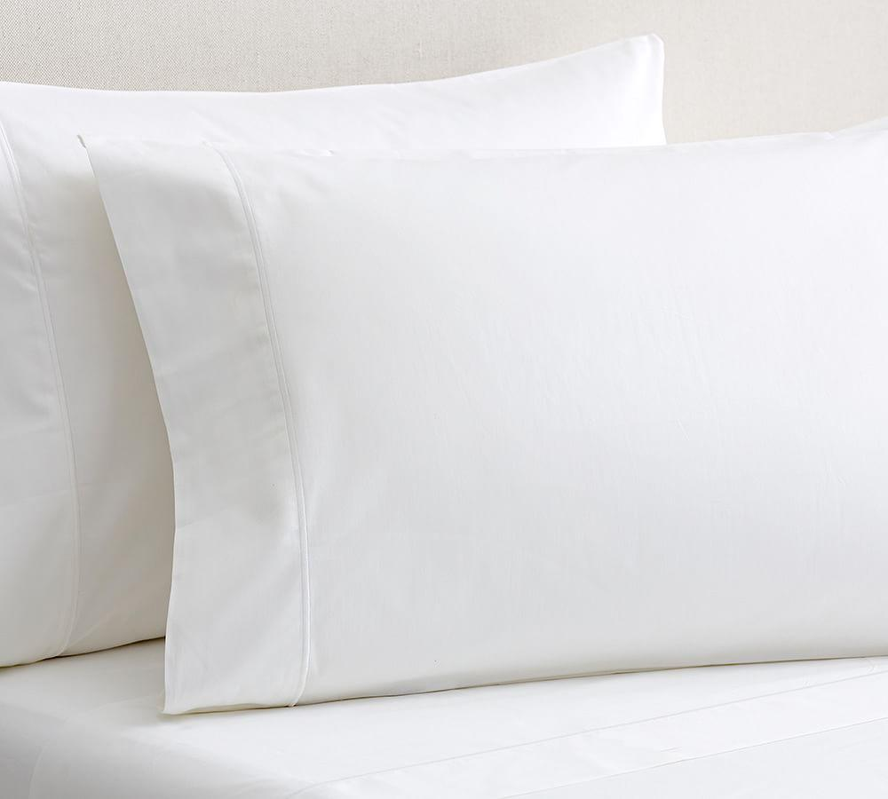 Pb Organic 350 Thread Count Sateen Sheet Set Pottery Barn Ca