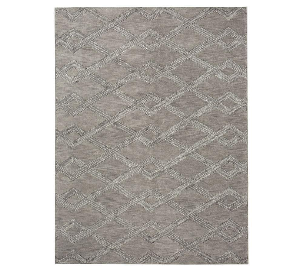 Chase Tufted Rug - Gray