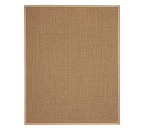 Color-Bound Earth Sisal Rug - Chino