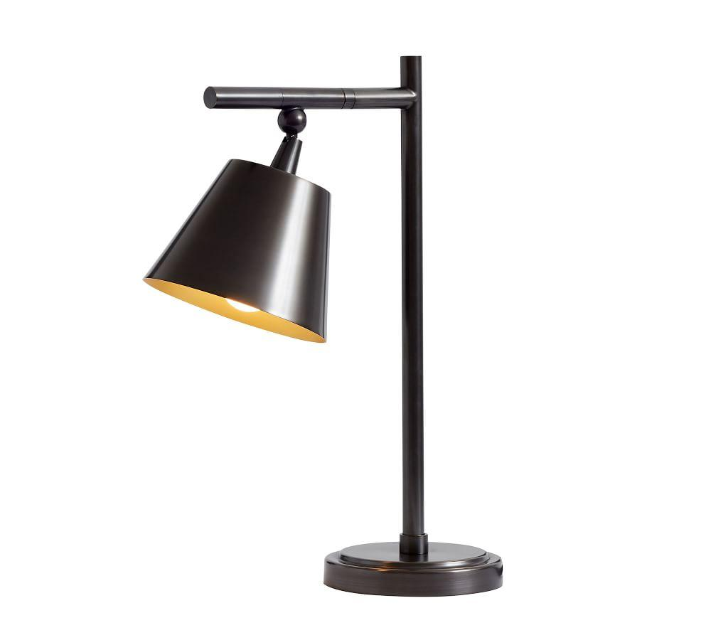Zane Rotating USB Table Lamp