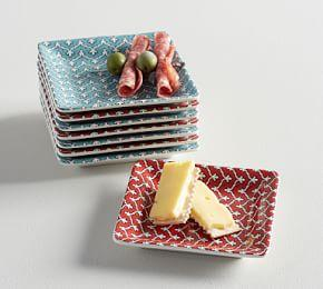 Ava Appetizer Plates
