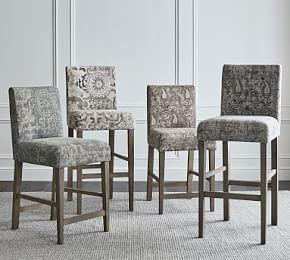Oliver Upholstered Bar Stool