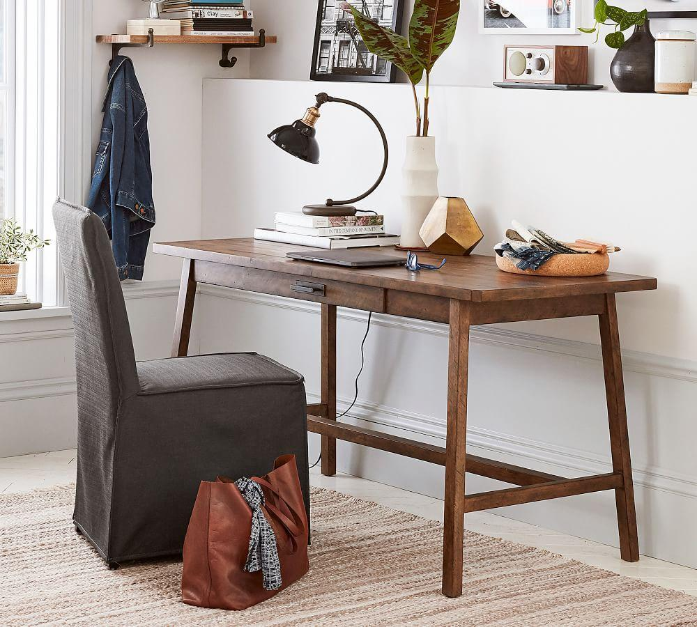 online retailer ef0a7 65b12 Mateo Rustic Large Desk | Pottery Barn CA