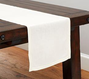 PB Classic Table Runner - Ivory