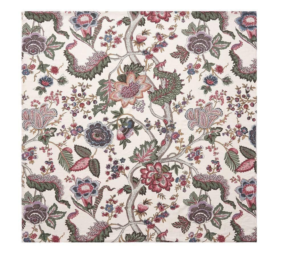 Resi Pink Floral Palampore Table Throw