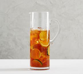 Monique Lhuillier Gabrielle Etched Iced Tea Pitcher