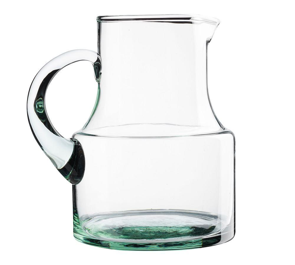 Leon Recycled Glass Pitcher