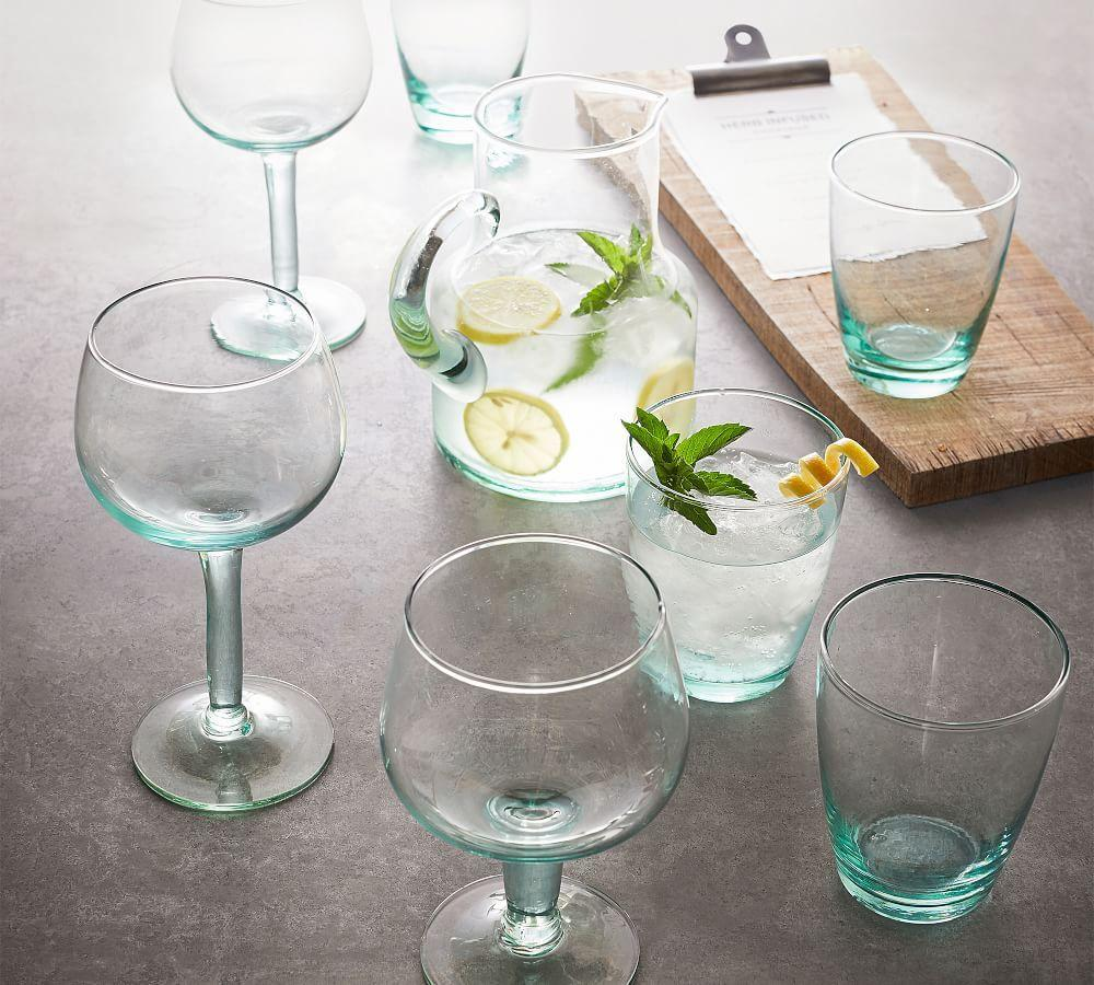 Leon Recycled Spritzer Glass, Set of 6