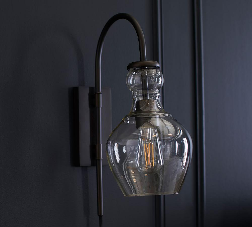Flynn Recycled Glass Sconce