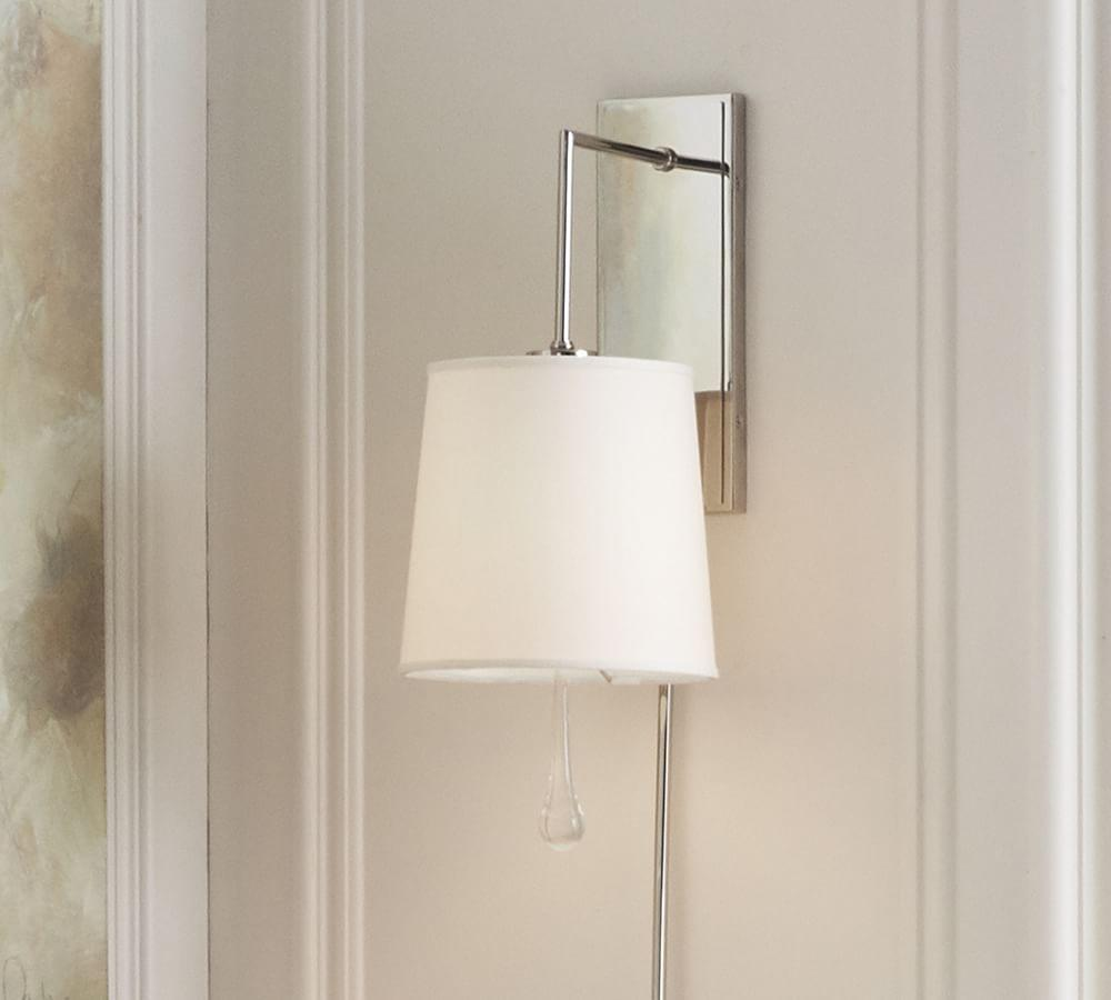 Getty Glass Sconce with Shade