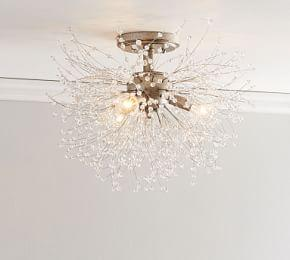 Cobie Crystal Flush Mount