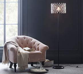 Arden Crystal Floor Lamp