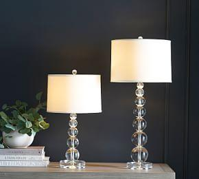 Stacked Crystal Lamp