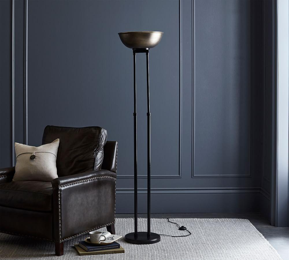 Emerson Dome Torchiere Floor Lamp