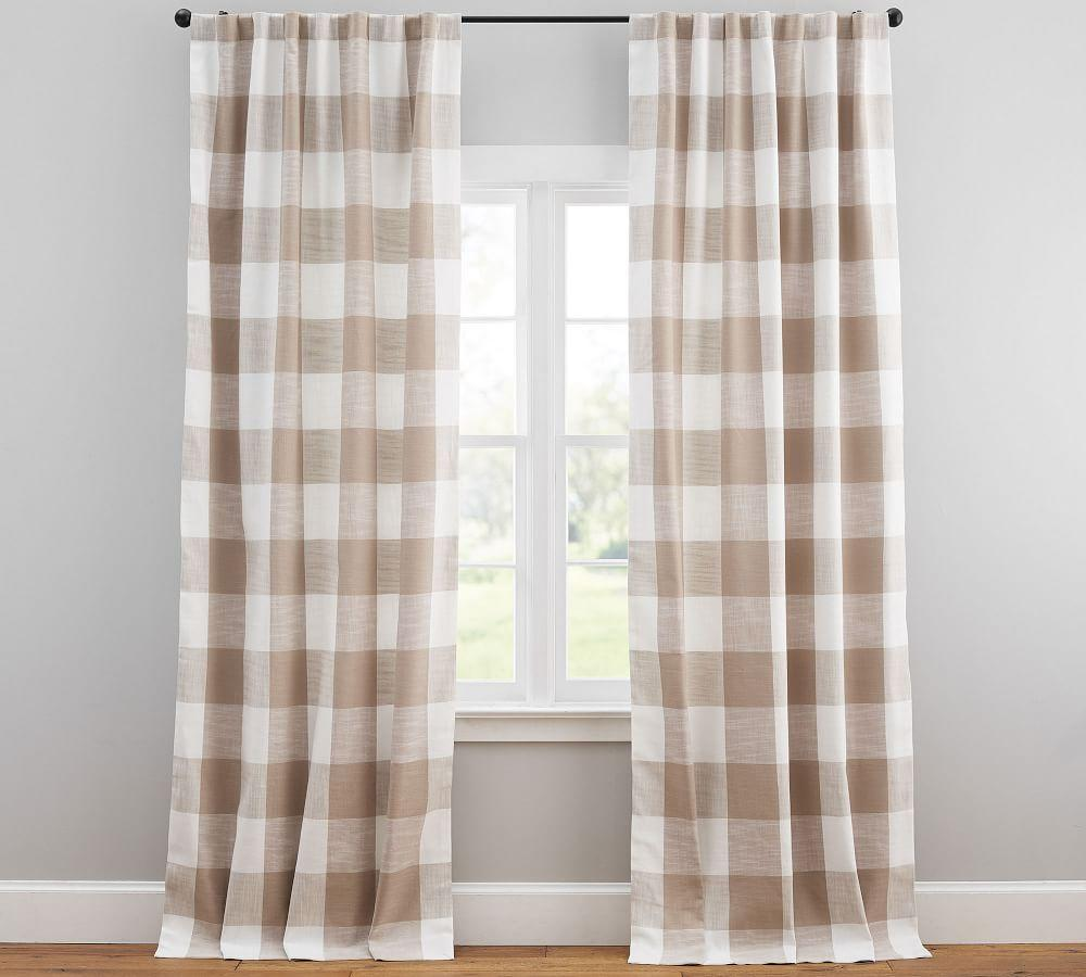 Bryce Check Curtain