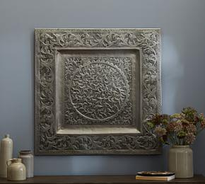 Decorative Metal Square Wall Art