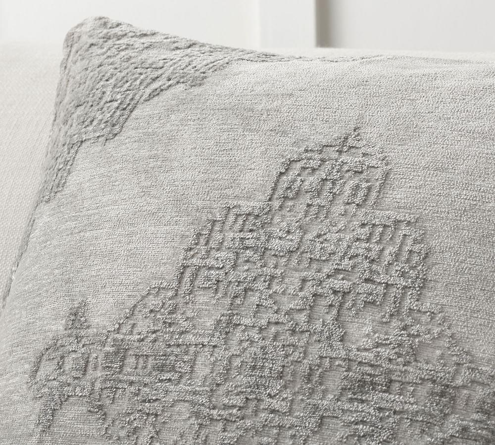 Maddie Textured Pillow Covers Pottery Barn Ca