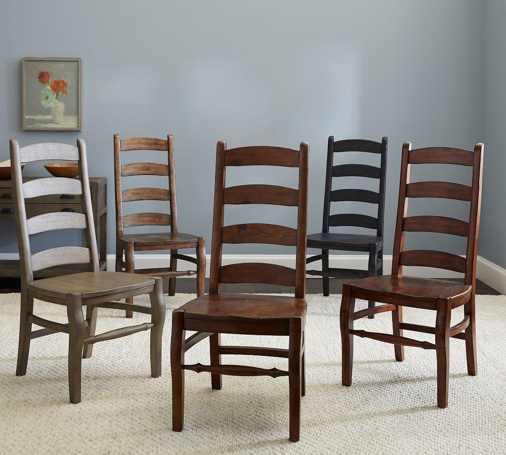 Excellent Wynn Ladderback Dining Chair Pottery Barn Ca Beutiful Home Inspiration Cosmmahrainfo
