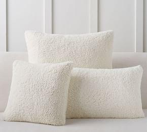 Faux Sheepskin Pillow Covers