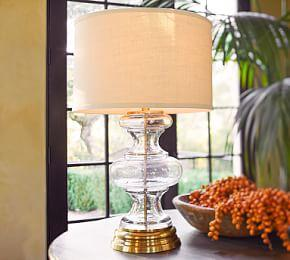 Jasmine Glass Table Lamp