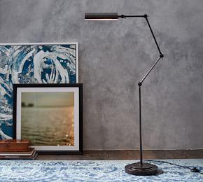 Wells Task Floor Lamp