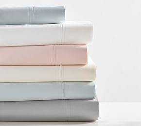 700-Thread-Count Cotton Pillowcases