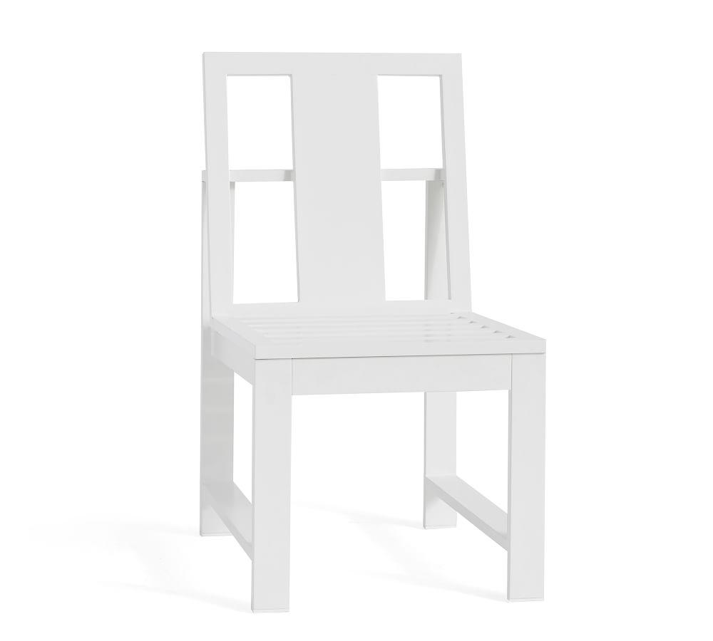 Indio Metal Dining & Armchairs, White