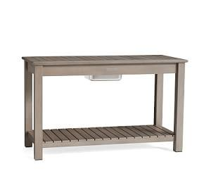 Chatham Ultimate Bar Console, Gray