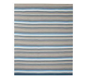 Zander Synthetic Rug - Blue Multi