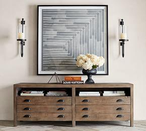Architects Reclaimed Wood Media Console