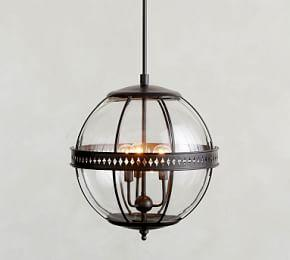 Caspar Indoor/Outdoor Glass Pendant