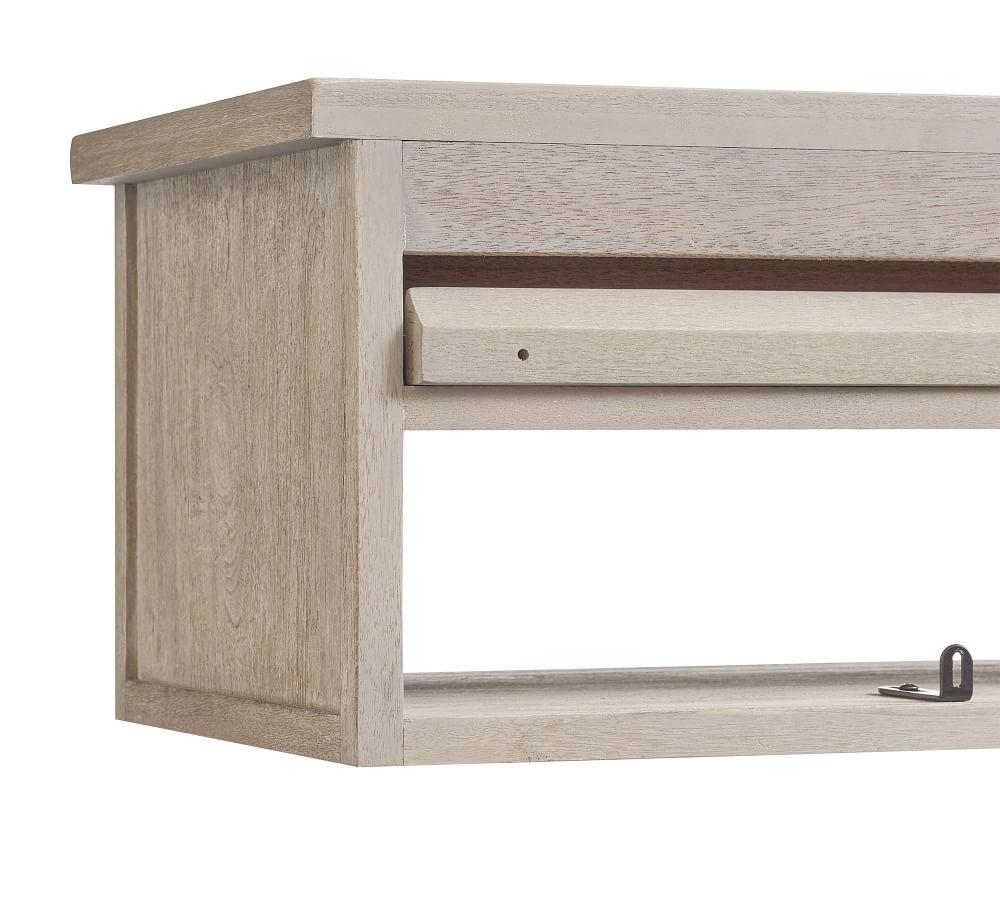 Farmhouse Floating Nightstand