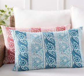 Outdoor Quinta Print Lumbar Pillow