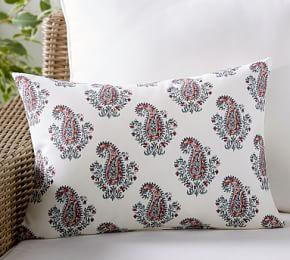 Outdoor Signy Print Lumbar Pillow