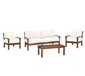Chatham 4-Piece Conversation Set, Honey
