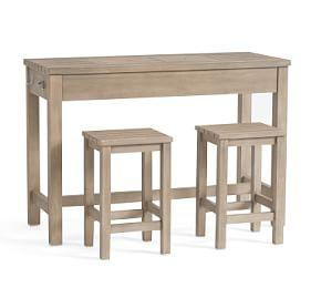 Indio Ultimate Counter-Height Table with 2 Stools