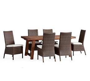Benchwright Extending Table & Torrey Chair Dining Set