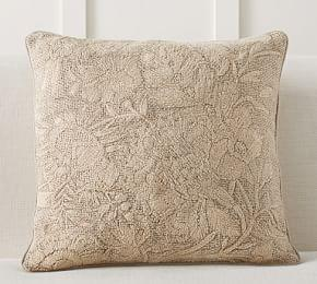 Bernadette Embroidered Pillow Cover