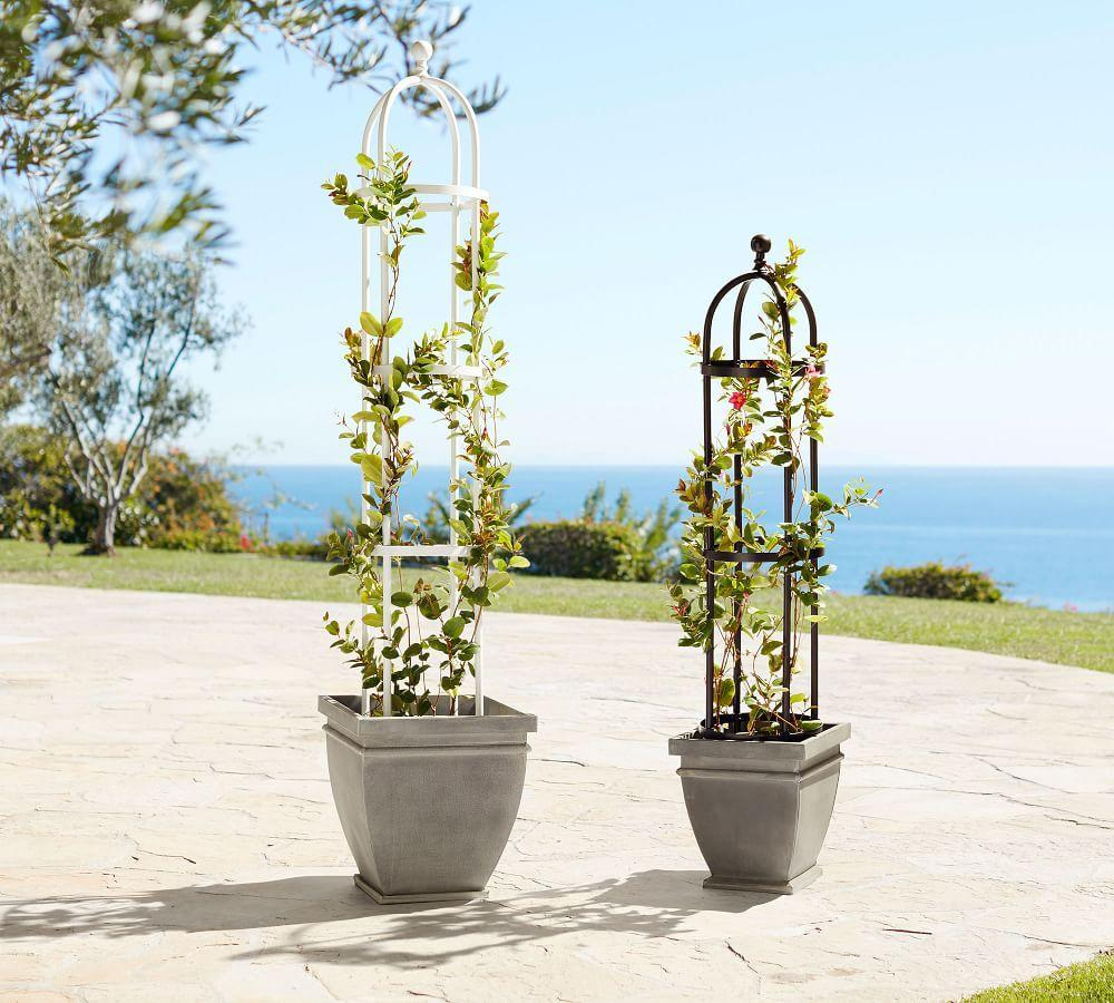 Bronze Metal Trellis Collection