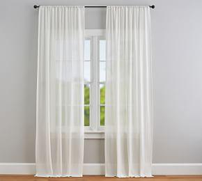 Cotton Gauze Sheer Curtain
