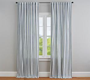 Eden Stripe Curtain Set of 2