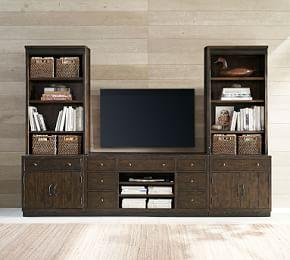 Kenwood Entertainment Center With Towers