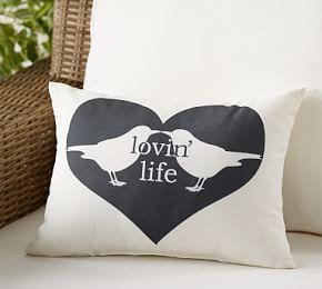 Outdoor Lovin Life Birds Pillow