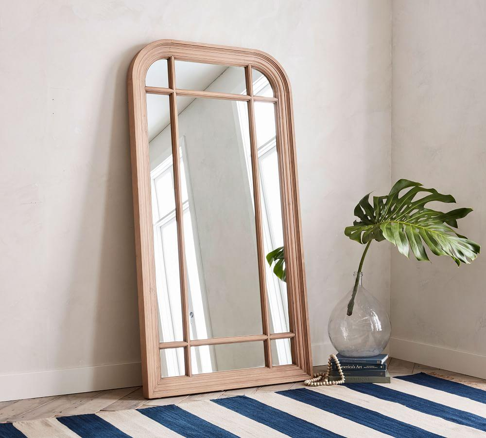 Parkmore Reclaimed Wood Grand Floor Mirror