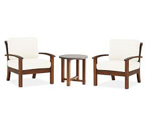 Chatham 3-Piece Chat Set with Abbott Side Table