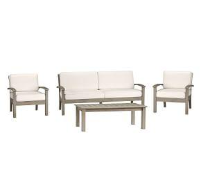 Chatham 4-Piece Conversation Set, Gray