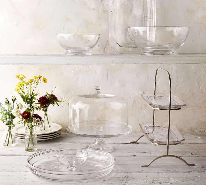 Grace Pressed Glass Collection