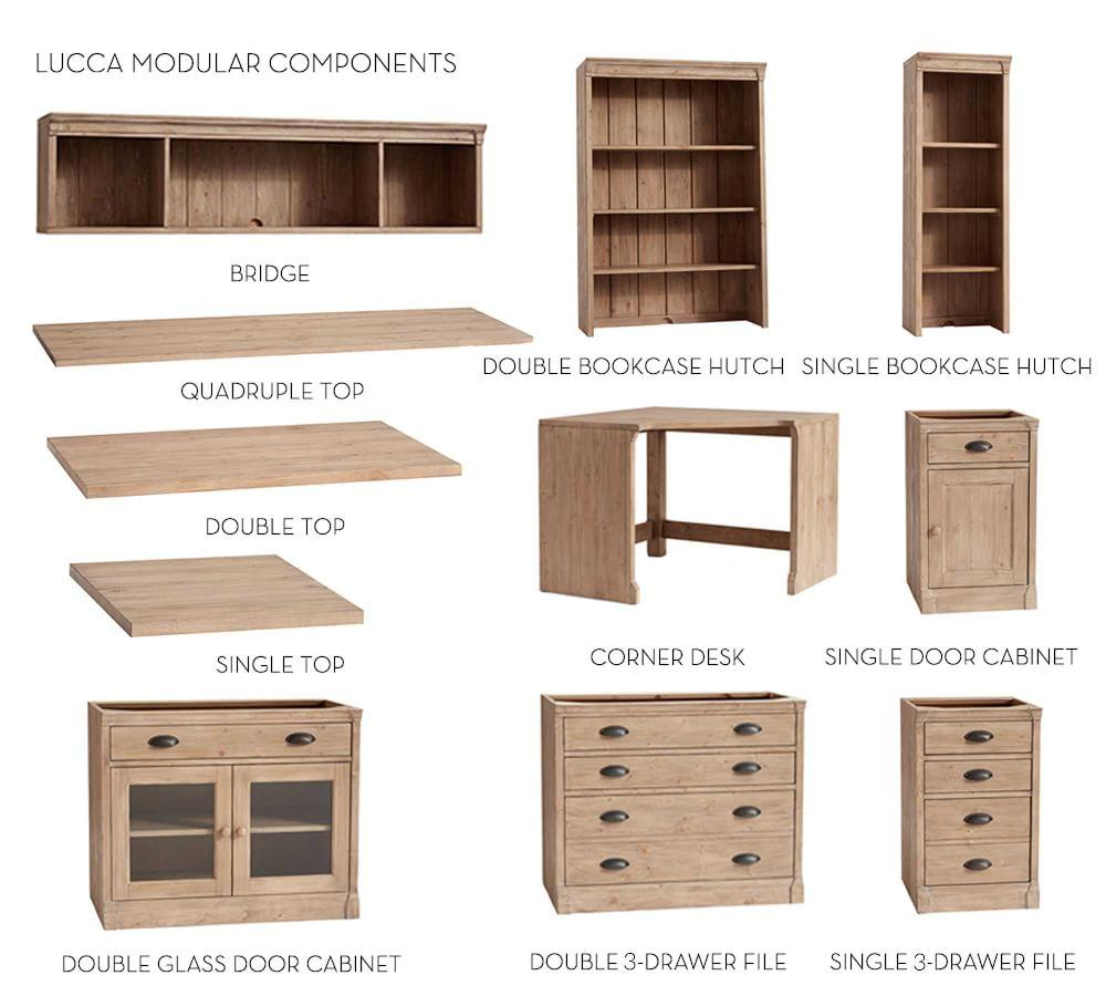 Build Your Own Modular Lucca Collection Pottery Barn Ca